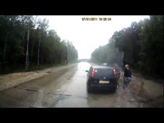 Идиотизм на дороге